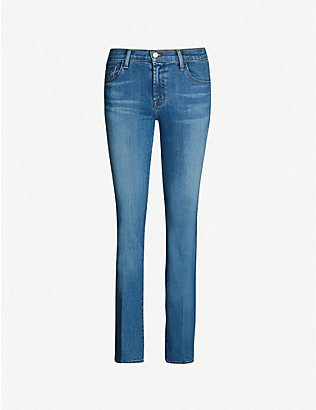 J BRAND: Sallie flared mid-rise jeans