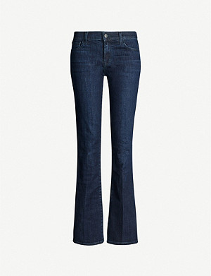 J BRAND Sallie flared mid-rise jeans