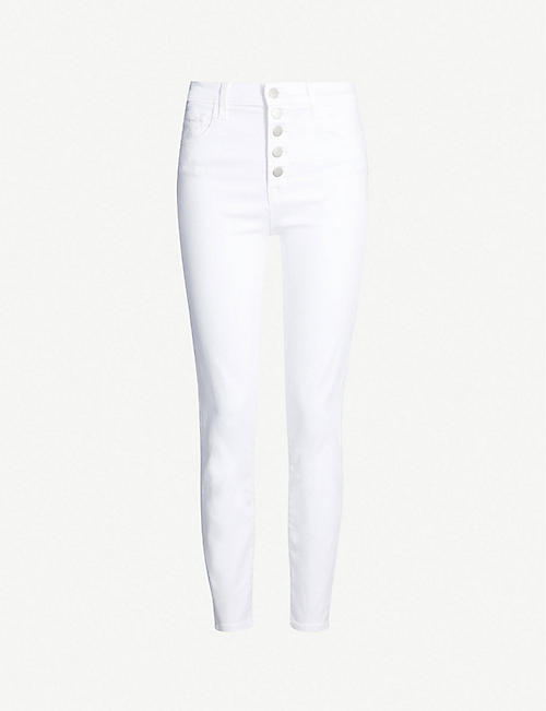 J BRAND Lillie high-rise skinny stretch-denim jeans