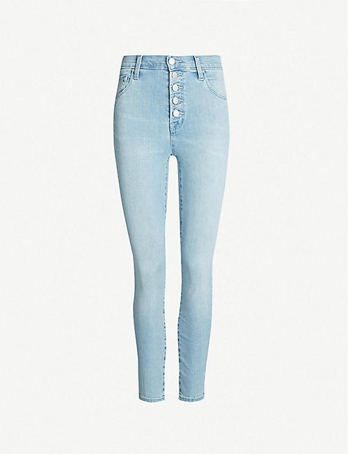 1d4b7a86d88f J BRAND Lillie high-rise skinny stretch-denim jeans