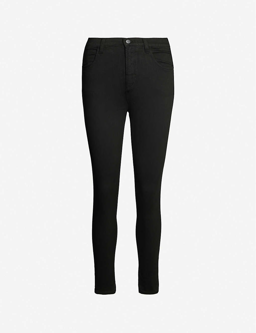 J BRAND: Alana high-rise skinny cropped jeans