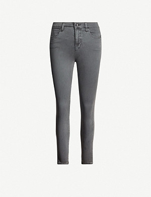 J BRAND Alana high-rise skinny cropped jeans