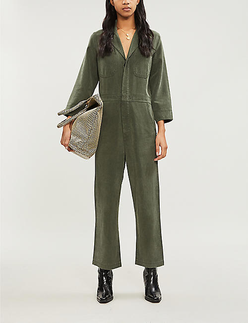 J BRAND Traveler denim jumpsuit