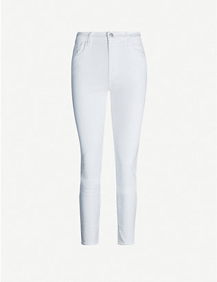 J BRAND: Ruby mid-rise cigarette jeans