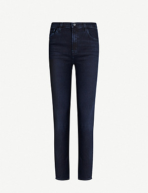 J BRAND Ruby high-rise cigarette stretch-denim jeans