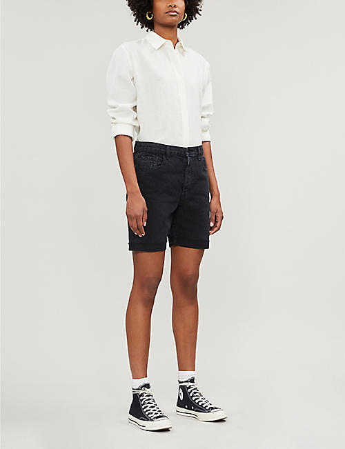 J BRAND Billey high-rise denim shorts