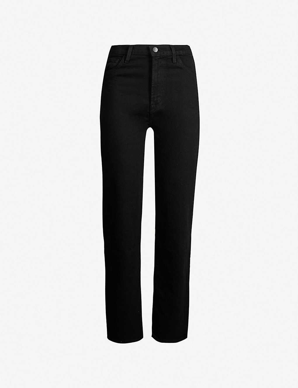 81f422f2f15 J BRAND - Jules straight high-rise jeans | Selfridges.com
