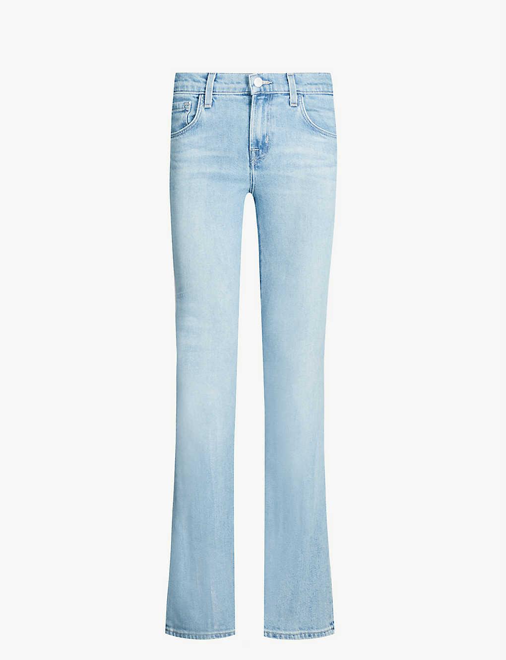 01005d1800 Sallie slim-fit high-rise jeans