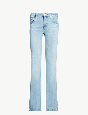 J BRAND Sallie slim-fit high-rise jeans
