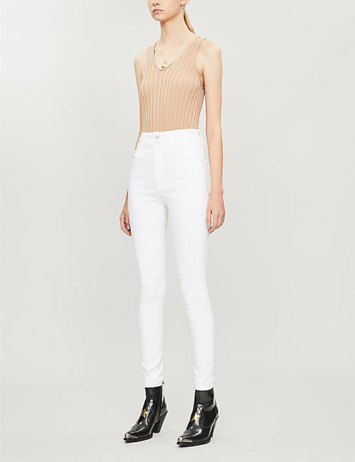 J BRAND J BRAND x Elsa Hosk Saturday skinny high-rise jeans