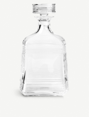 RALPH LAUREN HOME Bentley crystal decanter 900ml