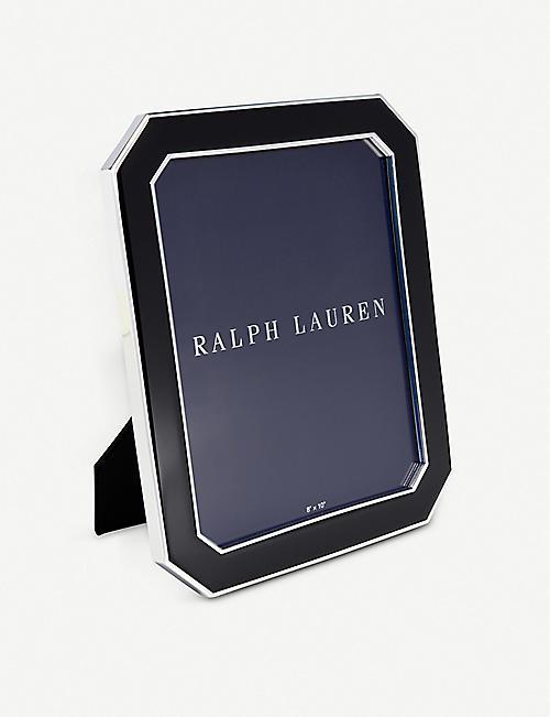 c01529221 RALPH LAUREN HOME Becker lacquer photo frame 25cm