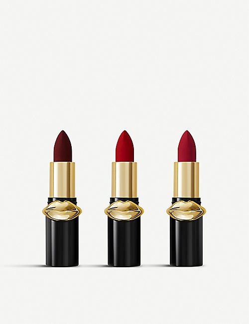 PAT MCGRATH LABS: LUST: Mini MatteTrance Lipstick Trio