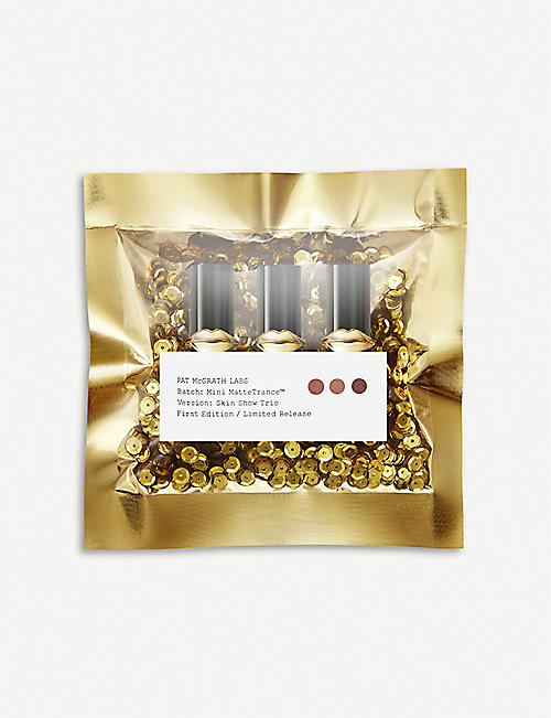 PAT MCGRATH LABS MatteTrance mini lipstick set of three