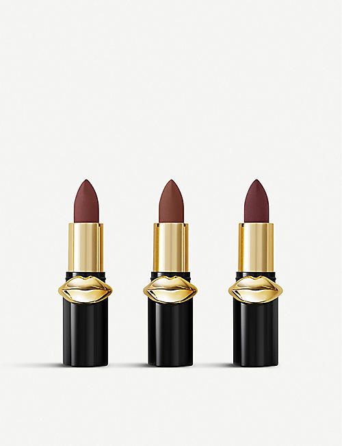 PAT MCGRATH LABS LUST: Mini MatteTrance Lipstick Trio
