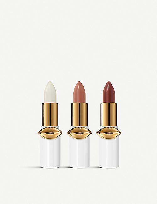 PAT MCGRATH LABS Mini Lip Fetish lip balms set of three