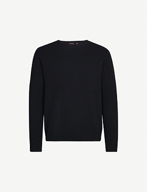 OSCAR JACOBSON Valter wool-blend jumper