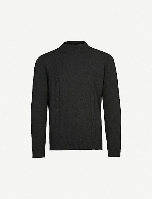 OSCAR JACOBSON Sam turtleneck knitted jumper