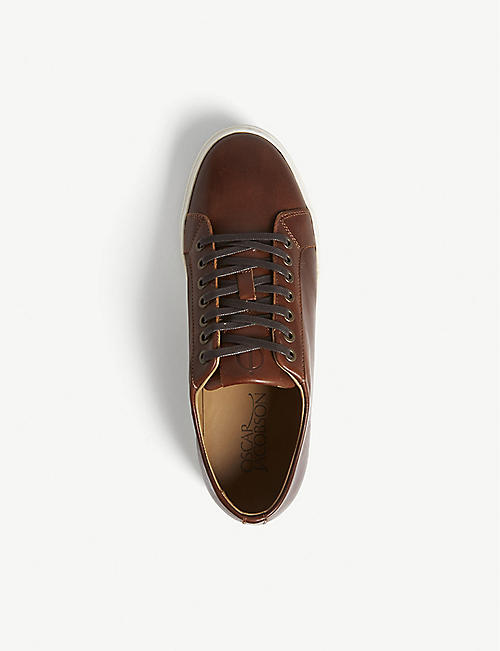 OSCAR JACOBSON Phoenix leather trainers