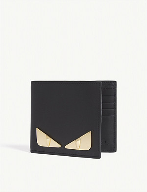FENDI Bag Bugs leather billfold wallet