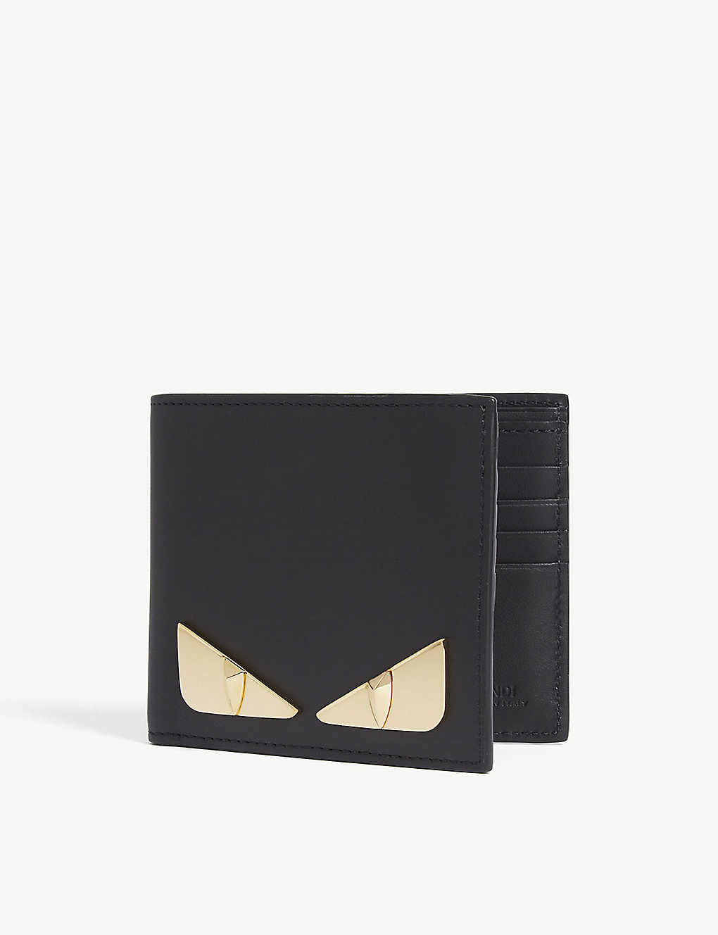 FENDI: Bag Bugs leather billfold wallet