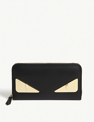 FENDI Bad Bugs leather wallet