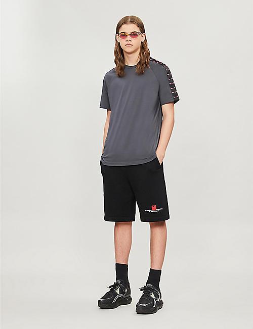 5b77ad6df0 FENDI Graphic-print cotton-jersey T-shirt · Quick Shop