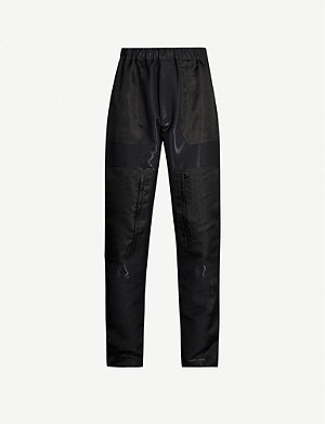 FENDI Tapered wool-blend cargo trousers