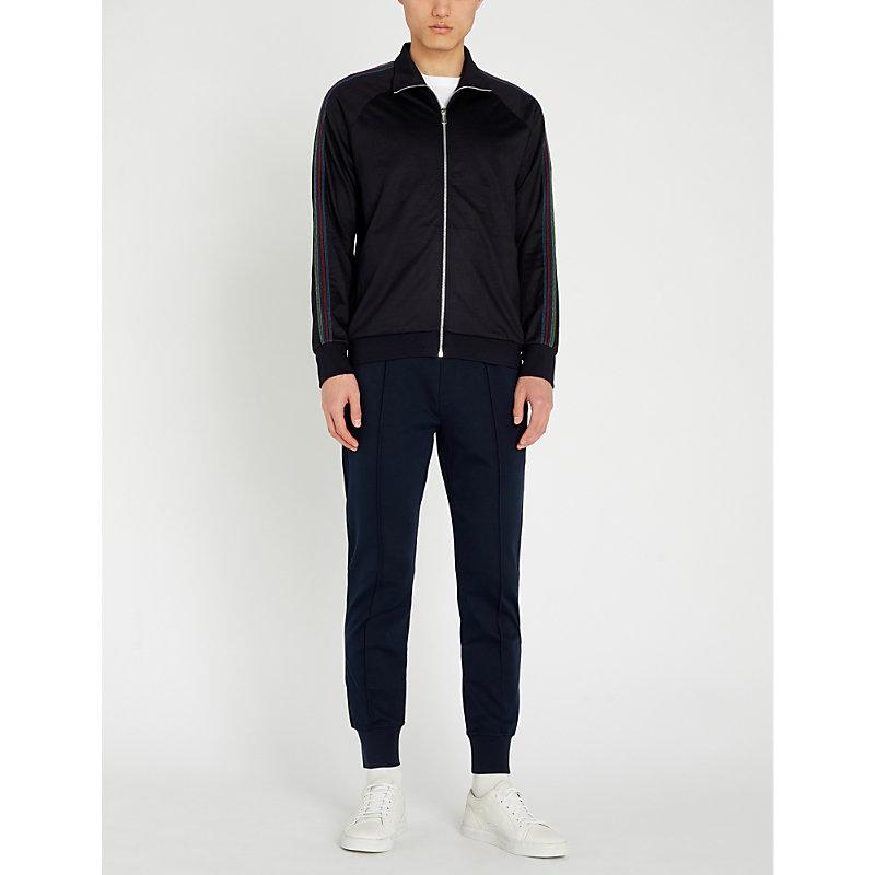 PS PAUL SMITH   Zip-Up Cotton-Blend Tracksuit Jacket   Goxip