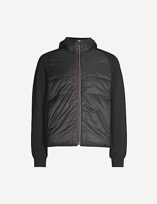 PS BY PAUL SMITH Quilted striped shell jacket