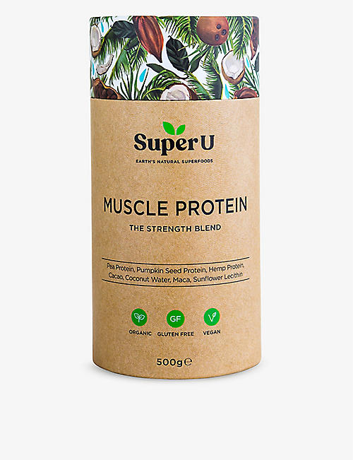 SUPER U: Muscle Protein Strength Blend 150g