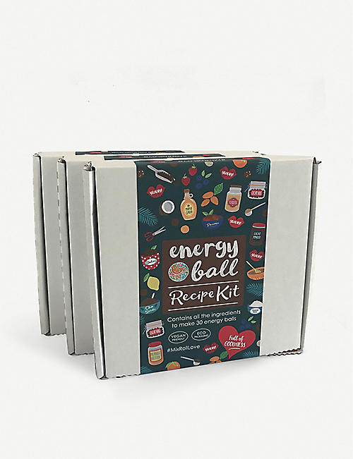 ENERGY RECIPIES Energy ball recipe kit pack of three