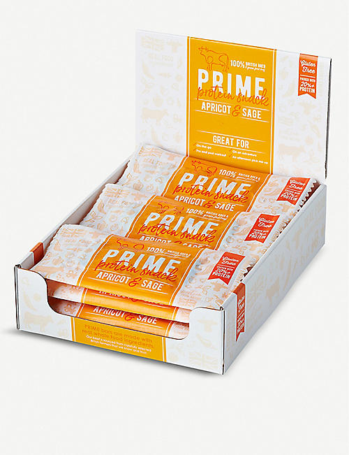 PRIME BARS Grass-fed Beef, Apricot and Sage bars set of 12