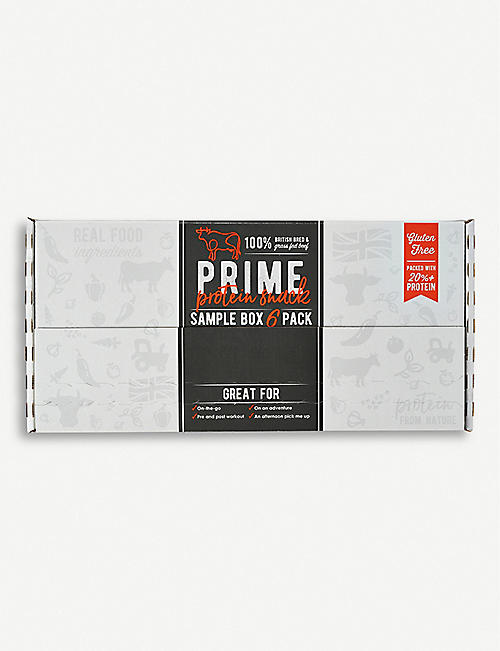 PRIME BARS Prime Bar Selection Box set of six