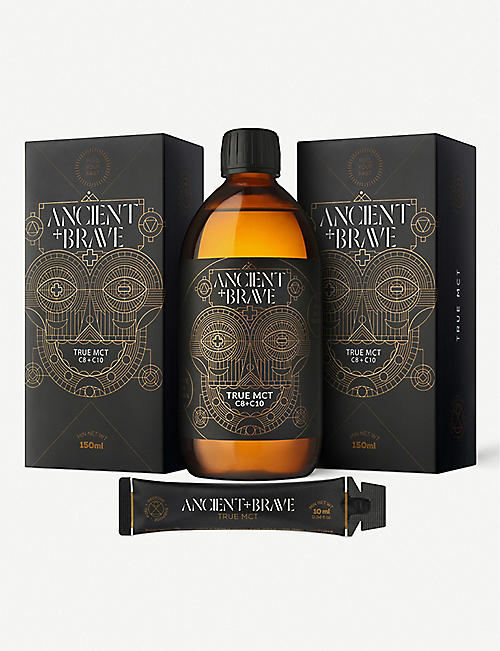 ANCIENT+BRAVE:True MCT 套餐 1x150ml, 15x10ml
