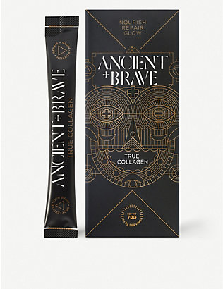 ANCIENT + BRAVE: True Collagen sachets pack of 15 x 5g