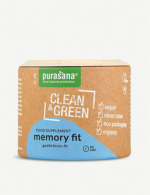 PURASANA: Clean and Green Memory Fit 60 tablets