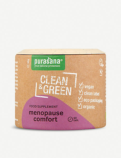 PURASANA: Clean and Green Menopause Comfort 60 tablets
