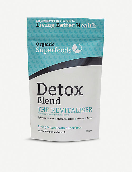LIVING BETTER HEALTH: Detox Blend 125g