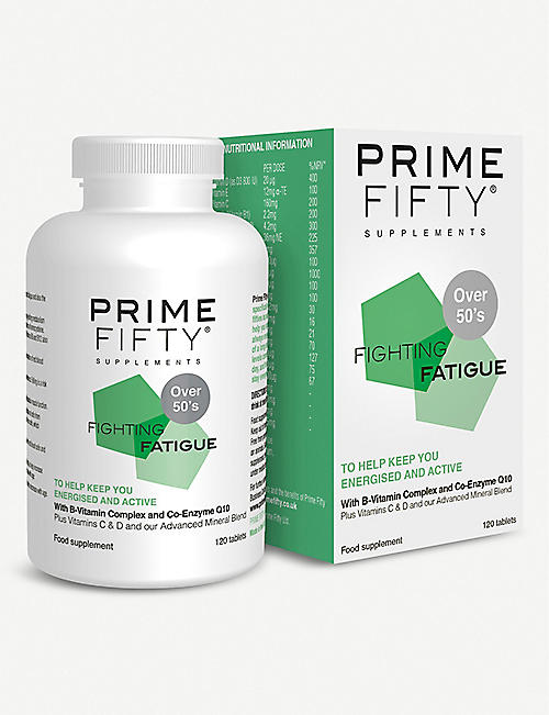 PRIME FIFTY Fighting Fatigue supplement 120 tablets