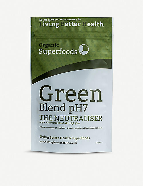 LIVING BETTER HEALTH: Green blend 125g