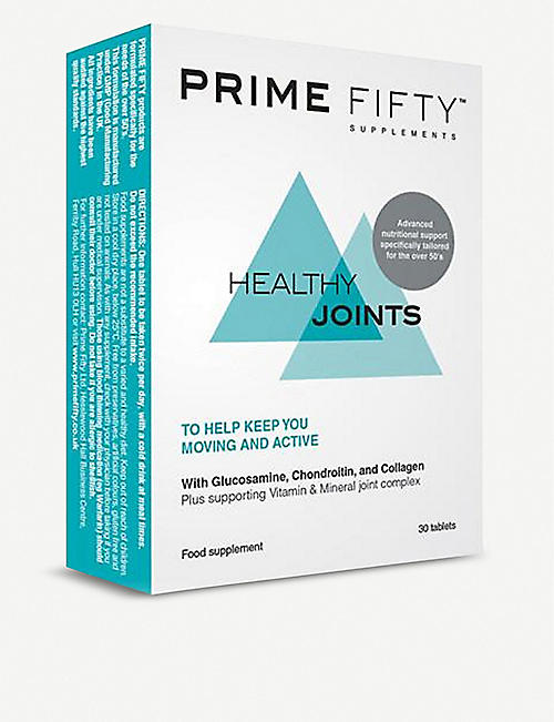 PRIME FIFTY: Healthy Joints supplement 30 tablets
