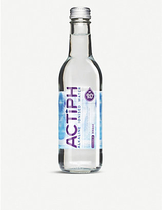 ACTIPH: Alkaline ionised water 24 x 330ml