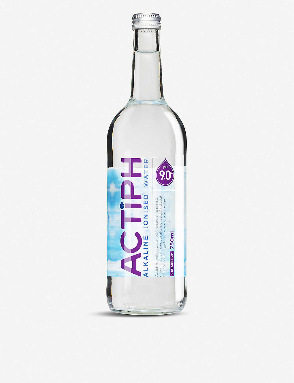 ACTIPH: Alkaline ionised water 12 x 750ml