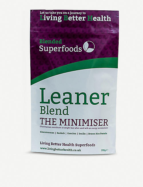 LIVING BETTER HEALTH: Leaner blend 200g