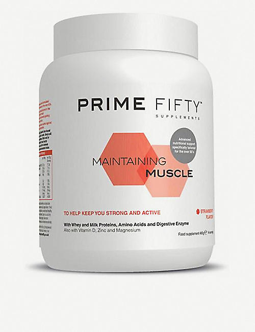 PRIME FIFTY: Maintaining Muscle supplement 490g