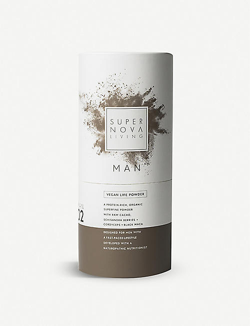 SUPERNOVA LIVING: Man advanced vegan protein powder 480g