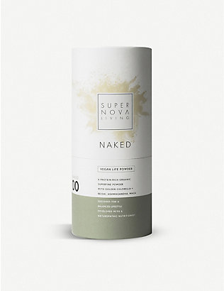 SUPERNOVA LIVING: Naked advanced vegan protein powder 480g