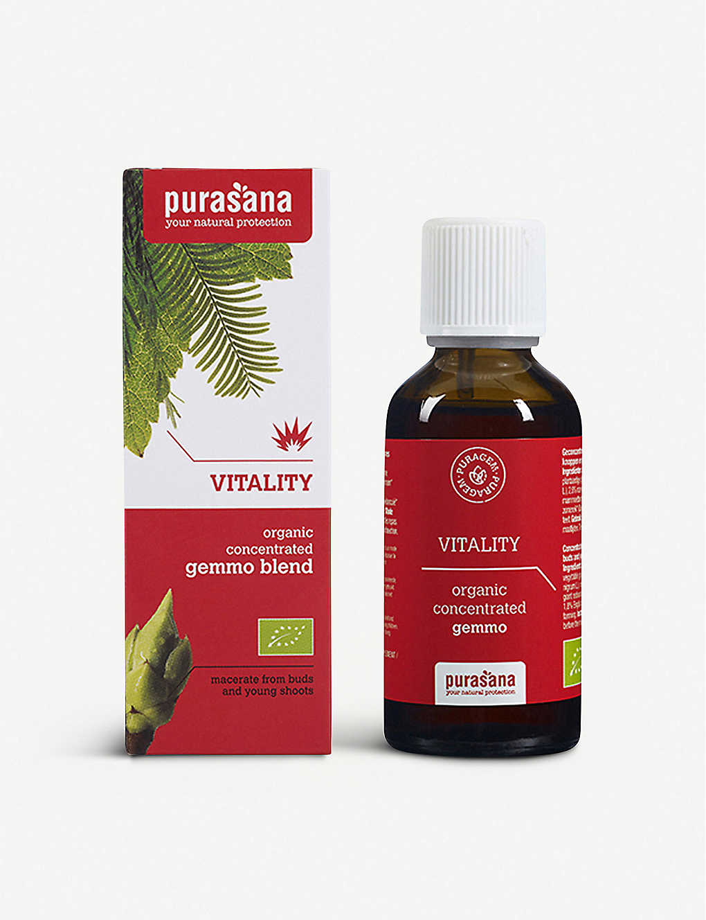 PURASANA: Puragem Vitality organic concentrated gemmo 50ml