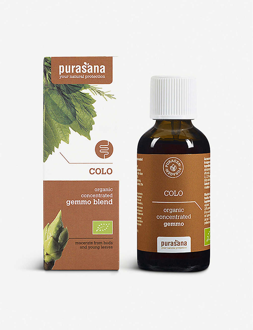 PURASANA: Puragem Colo organic concentrated gemmo 50ml